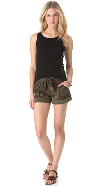 EDUN Eyelet Shorts