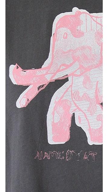EDUN Elephant Scoop Neck Tee