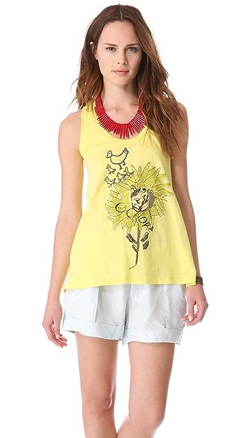 EDUN Sunflower Tank