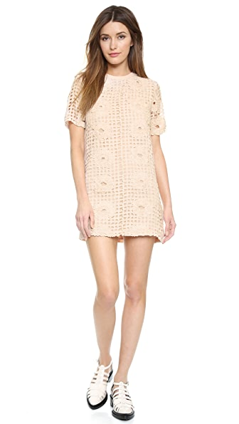 ENGLISH FACTORY Lattice Dress