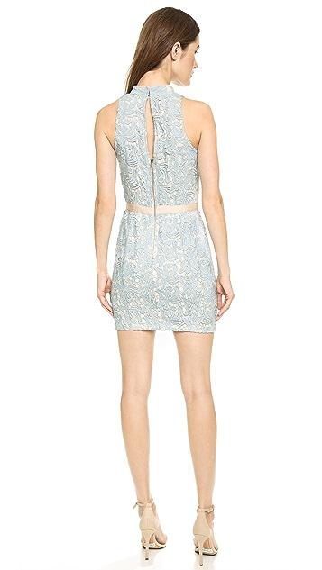 ENGLISH FACTORY Lace Mini Dress