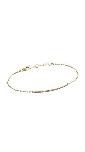 EF Collection Pave Diamond Chain Bracelet