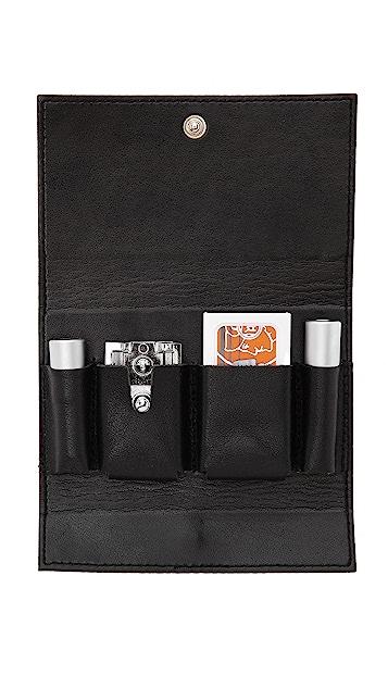 East Dane Gifts Merkur 3 Piece Travel Shave Set