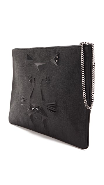 Ela Tiger Punk Clutch