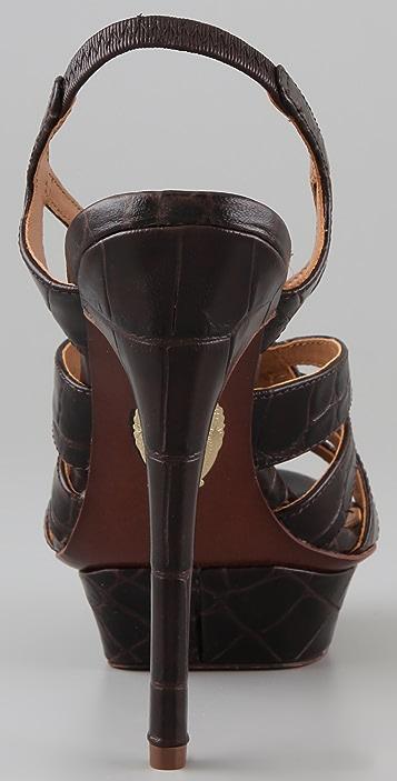 Elie Tahari Isla Platform Sandals