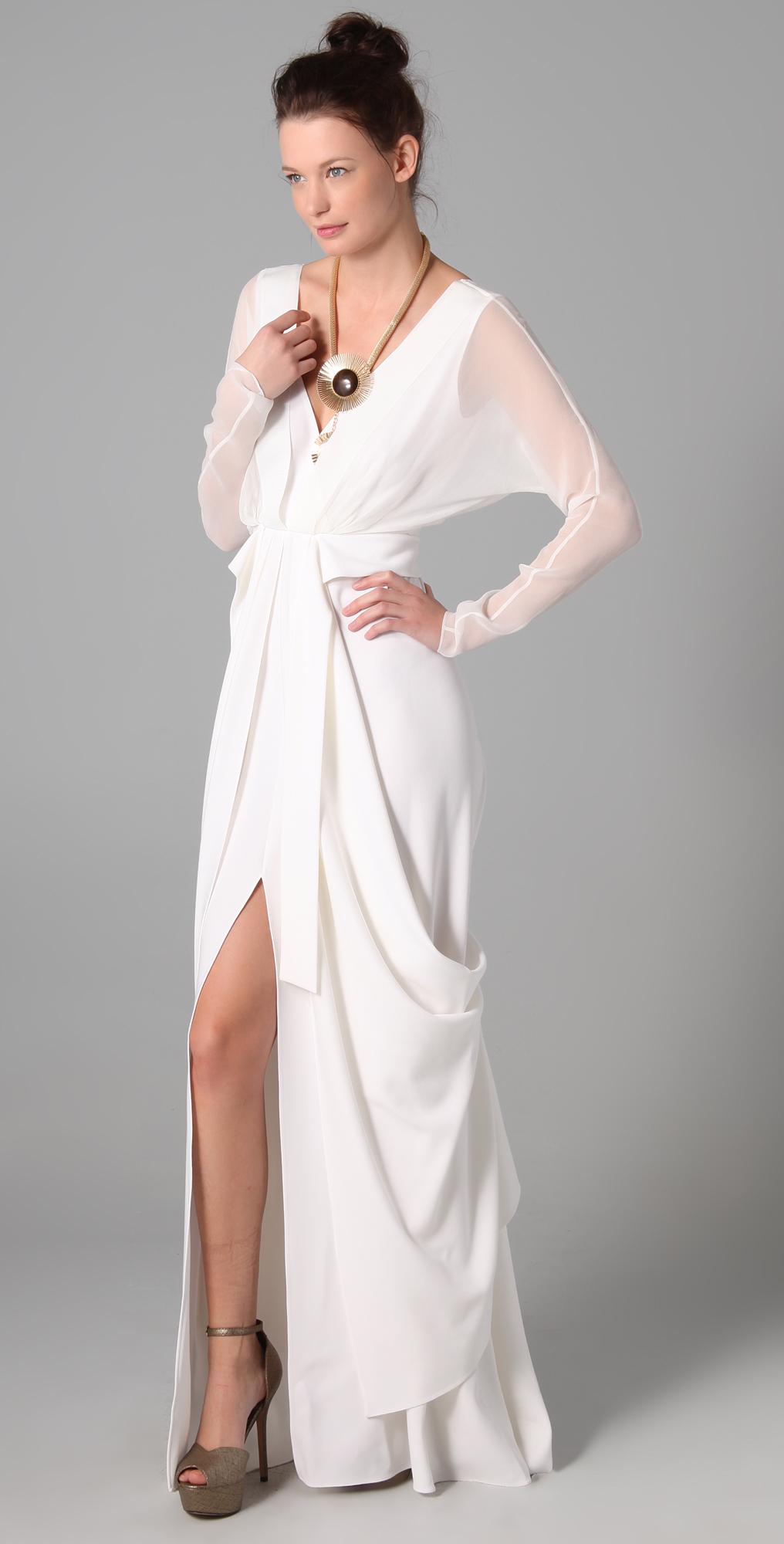Elie Tahari Heather Dress   SHOPBOP