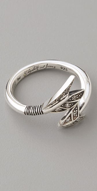 Elizabeth and James Arrow Ring