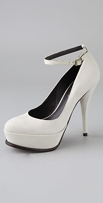 Elizabeth and James Milo Suede Platform Pumps