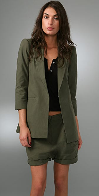 Elizabeth and James Sharp Shoulder James Blazer