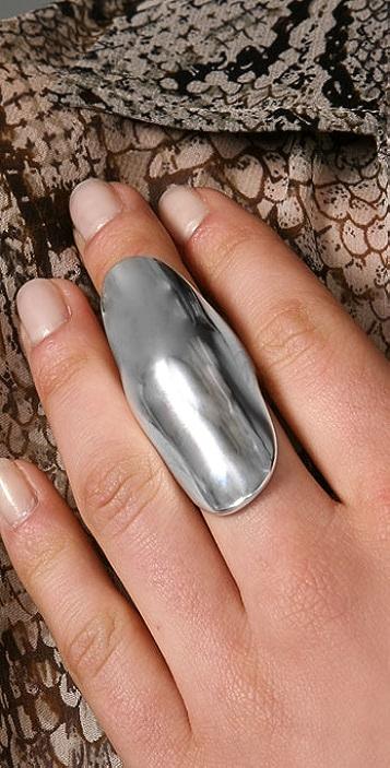 Elizabeth and James Knuckle Ring