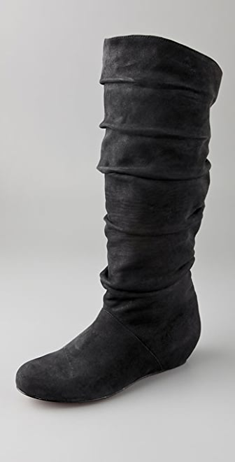 Elizabeth and James Seam Slouch Wedge Boots