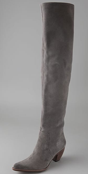 Elizabeth and James Western Thigh High Suede Boots