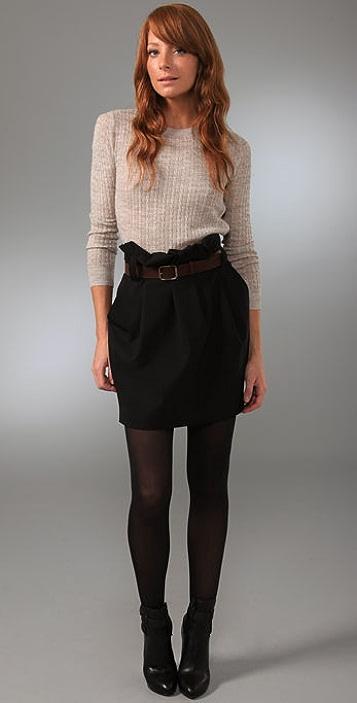 Elizabeth and James Belted Skirt