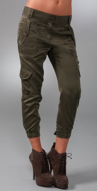 Elizabeth and James Slim Cargo Pants