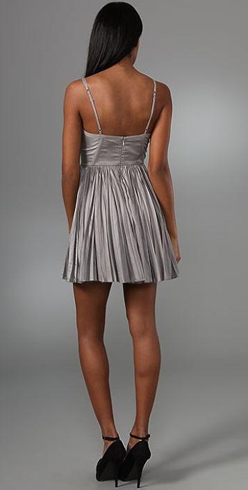 Elizabeth and James Sculpted Bustier Dress