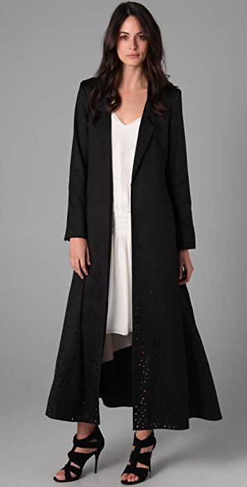 Elizabeth and James Long Duster Coat