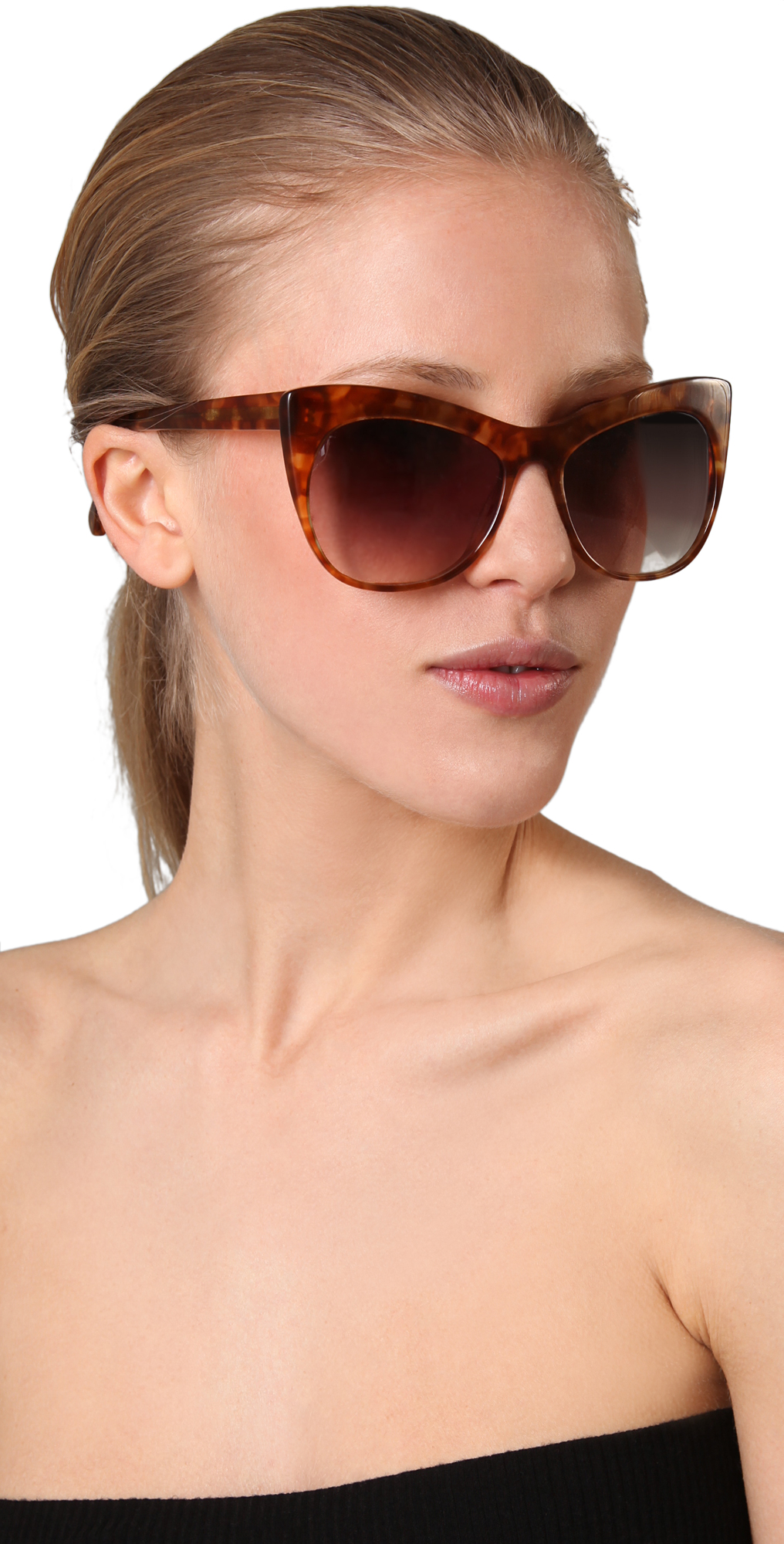 23a774c27ae Elizabeth and James Lafayette Cat Eye Sunglasses