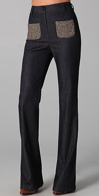 Elizabeth and James Patchwork Miller Trouser Jeans