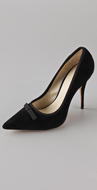 Elizabeth and James Selby Pointy Toe Suede Pumps