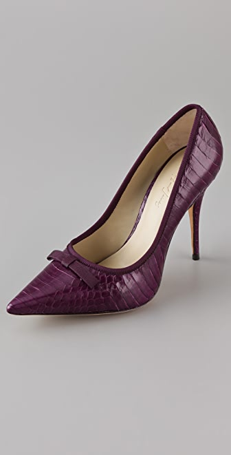 Elizabeth and James Selby Pointy Toe Pumps