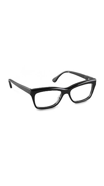 Elizabeth and James Delancey Glasses