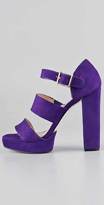 Elizabeth and James Sly Platform Sandals