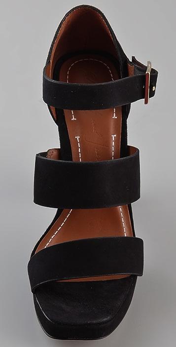 Elizabeth and James Sly Platform Sandals