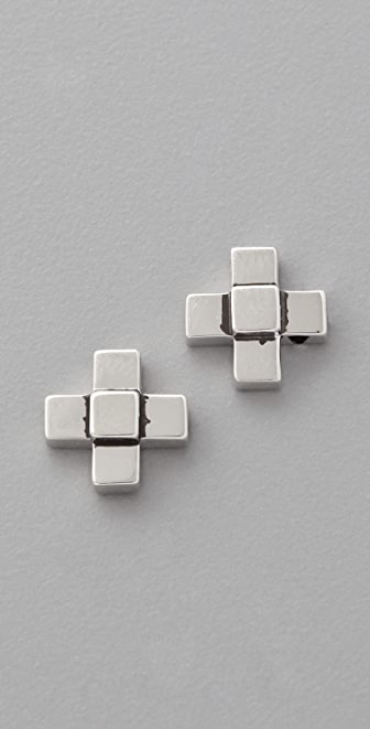 Elizabeth and James Nile Cross Stud Post Earrings