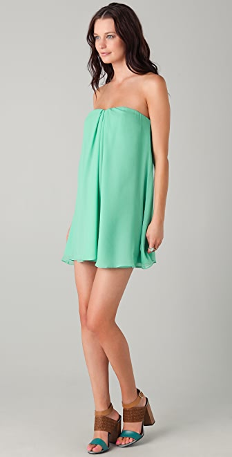 Elizabeth and James Clara Strapless Dress