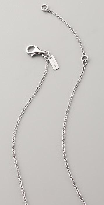 Elizabeth and James Saddle Pendant Necklace