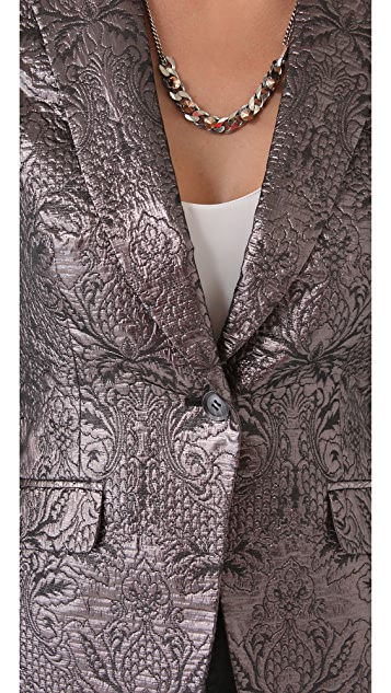Elizabeth and James Avery Blazer