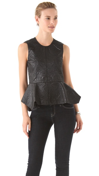 Elizabeth and James Yumi Peplum Top