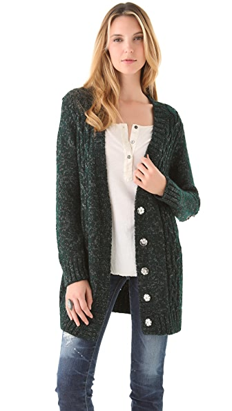 Elizabeth and James Studded Cardigan