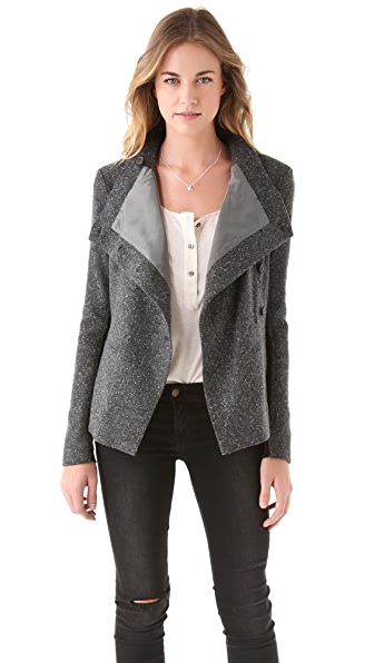 Elizabeth and James Speckled Victor Jacket