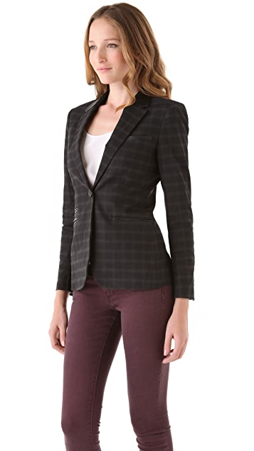 Elizabeth and James Rex Plaid Blazer