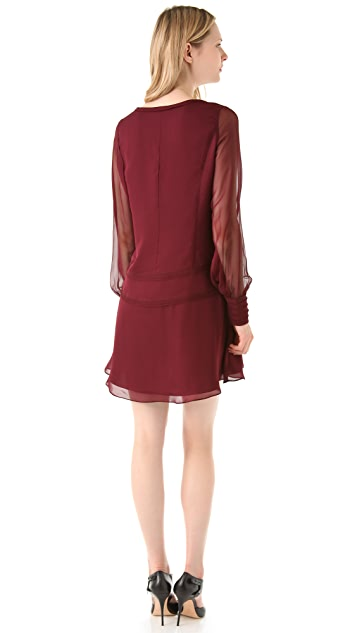 Elizabeth and James Lara Crepe Dress