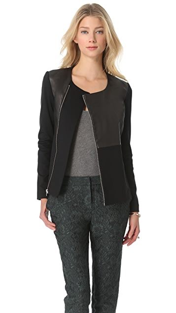 Elizabeth and James Trudy Leather Jacket