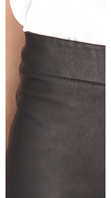 Elizabeth and James Allen Leather Pants