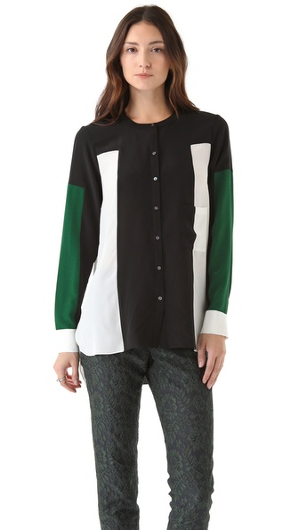 Elizabeth and James Ivy Colorblock Shirt