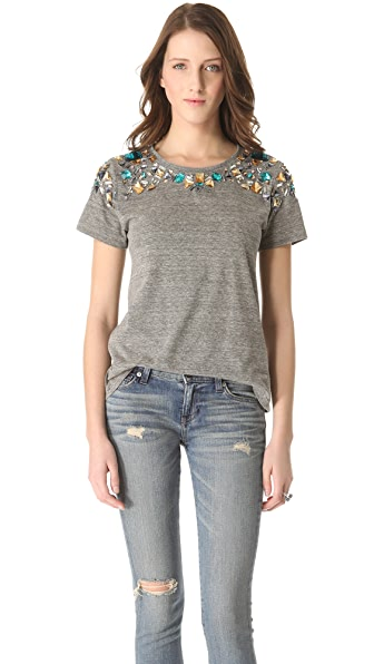 Elizabeth and James Victoria Embellished Tee