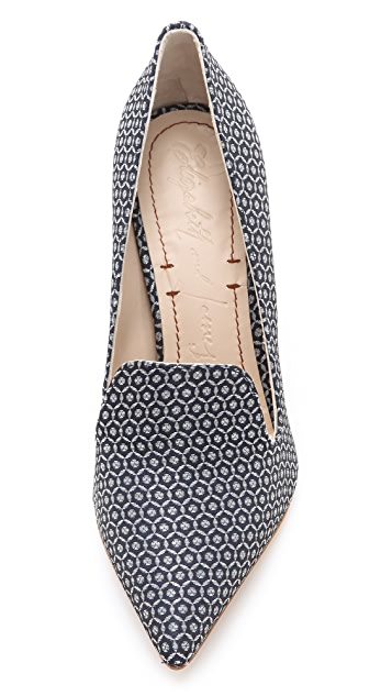 Elizabeth and James Stella Loafer Pumps