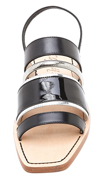 Elizabeth and James Nicki Multi Band Sandals