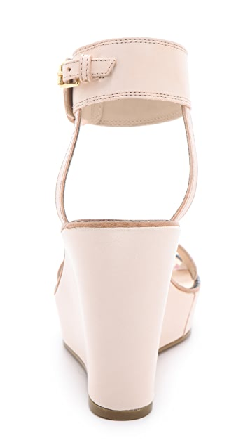 Elizabeth and James Brit Wedge Sandals