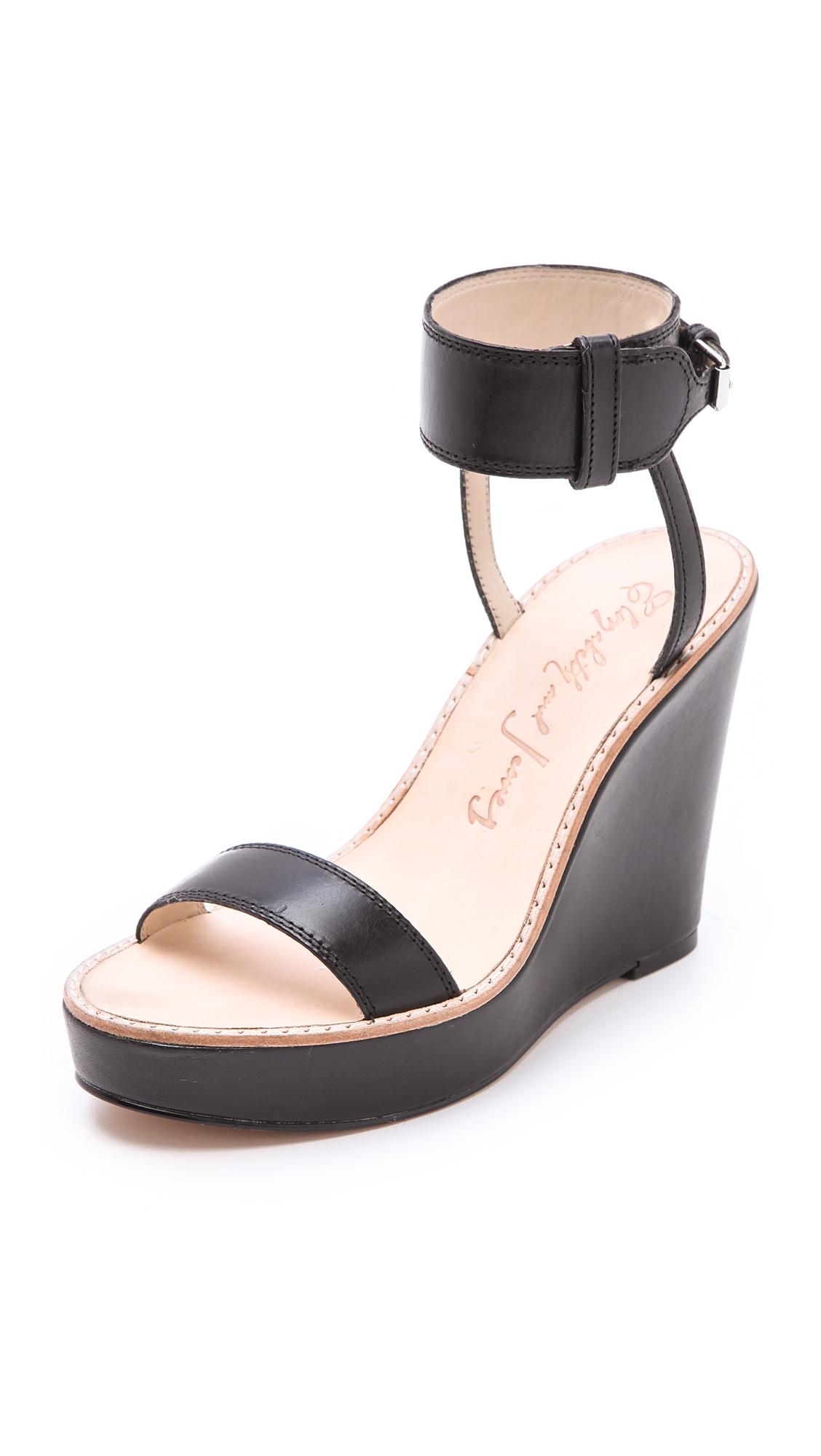 5445e4b70 Elizabeth and James Brit Wedge Sandals