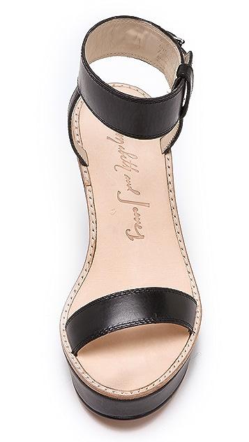 Elizabeth and James Brit Wedge Sandals