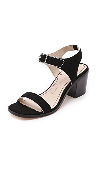 Elizabeth and James Ryann Low Heel Sandals