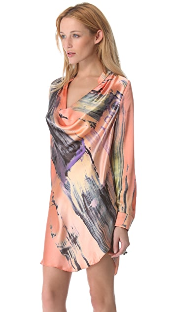 Elizabeth and James Brushstroke Carly Dress