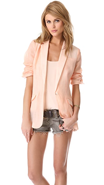 Elizabeth and James Jamie Rumpled Blazer