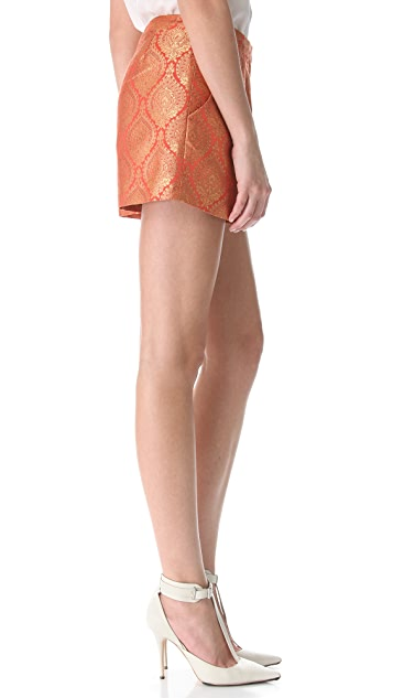 Elizabeth and James Stevie Jacquard Shorts
