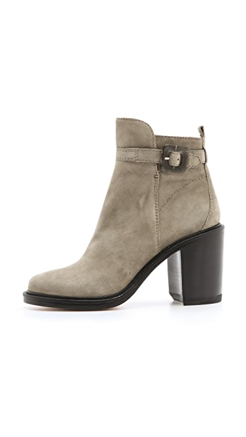 Elizabeth and James Tilie Suede Heeled Booties